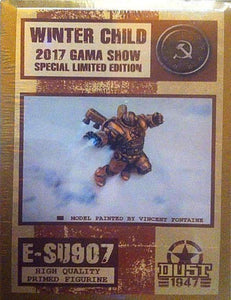 Dust Tactics: Winter Child 2017 GAMA Show Special Limited Edition E-SU907 Figurine Retail Game Accessory Dust Games