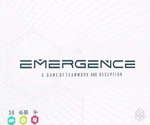 Emergence - A Game of Teamwork and Deception (Kickstarter Special) Kickstarter Board Game The Game Steward 0019962299506 KS000123