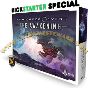 Emergence Event: The Awakening (Kickstarter Special) Kickstarter Board Game Expansion MegaCon Games 0728028205886 KS000123A