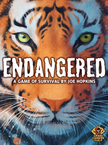 Endangered A Game of Survival: Conservationist Pledge - Ding and Dent (Kickstarter Special) Kickstarter Board Game Grand Gamers Guild KS001023B