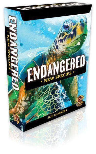 Endangered: New Species Expansion Plus Giant Panda Expansion Bundle (Kickstarter Pre-Order Special) Kickstarter Board Game Expansion Grand Gamers Guild KS001023C