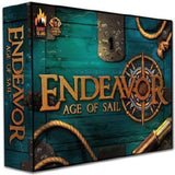 "Endeavor: Age of Sail ""Commodore"" Pledge Edition (Kickstarter Special) Kickstarter Board Game Burnt Island Games 0653753438202 KS000840A"