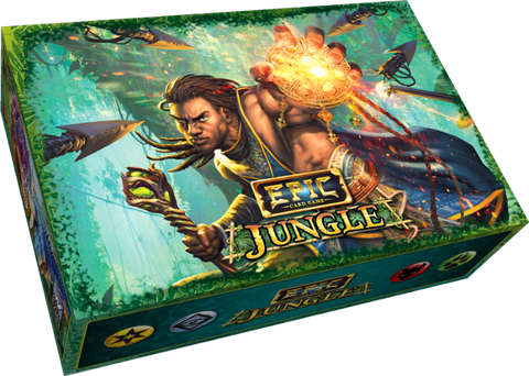 Epic Card Game: Jungle New Stuff Tier Pledge Bundle (Kickstarter Pre-Order Special) Kickstarter Card Game White Wizard Games KS001006A