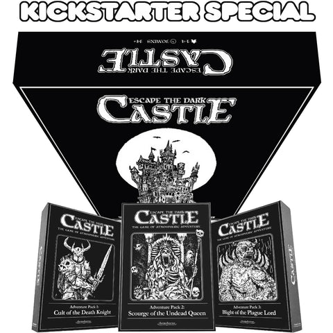 Escape the Dark Castle Level 6 Pledge Bundle (Kickstarter Special) Kickstarter Board Game Themeborne Ltd KS000833A