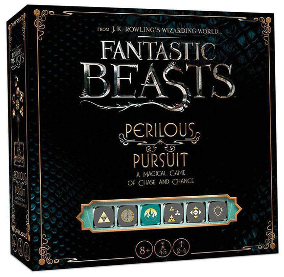 Fantastic Beasts: Perilous Pursuit Retail Board Game USAopoly 0700304150370 KS000987A