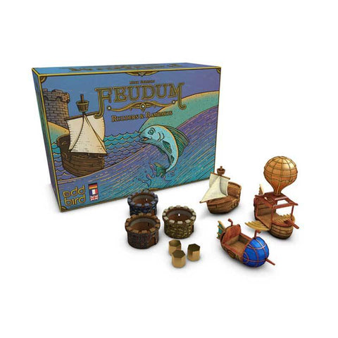 Feudum: Rudders and Ramparts (Kickstarter Pre-Order Special) Kickstarter Board Game Expansion Odd Bird Games KS000630B