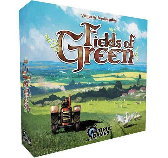 Fields of Green (Kickstarter Special) Kickstarter Board Game Artipia Games 0700615556236 KS000635
