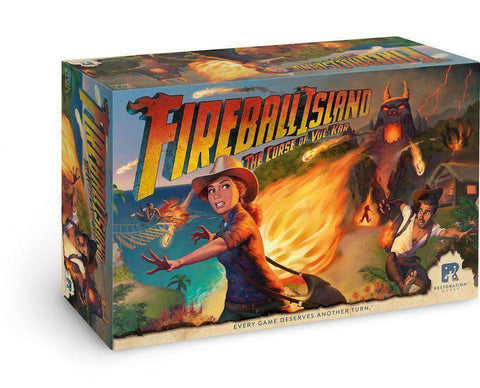 Fireball Island: The Curse of Vul-Kar Bundle (Kickstarter Special) Kickstarter Board Game Restoration Games KS000782A