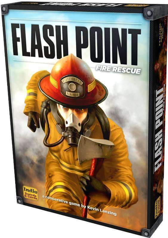Flash Point Fire Rescue Retail Board Game Indie Boards Cards 999 Games Asmodee Bard Centrum Gier Devir FunBox Jogos Heidelberger Spieleverlag Hobby Japan Magellan MINDOK