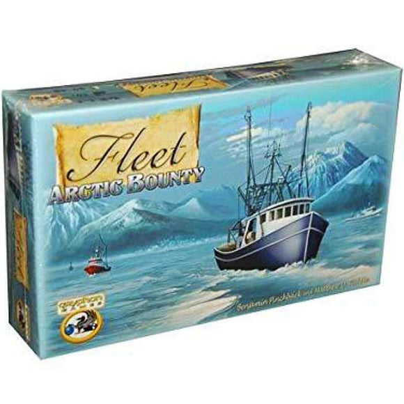 Fleet: Arctic Bounty Captain Pledge (Kickstarter Special) Kickstarter Card Game Eagle Gryphon Games
