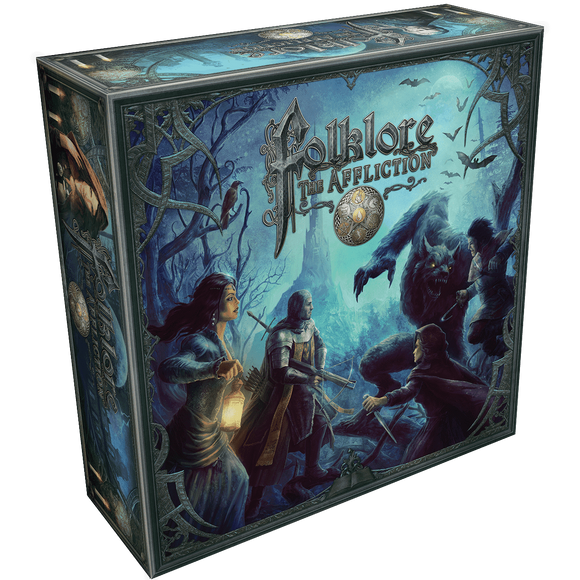 Folklore: The Affliction Premier Edition (Kickstarter Special) Kickstarter Board Game Greenbrier Games