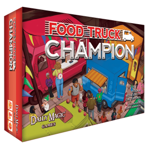 Food Truck Champion: Deluxe Edition (Kickstarter Special) Kickstarter Board Game Daily Magic Games