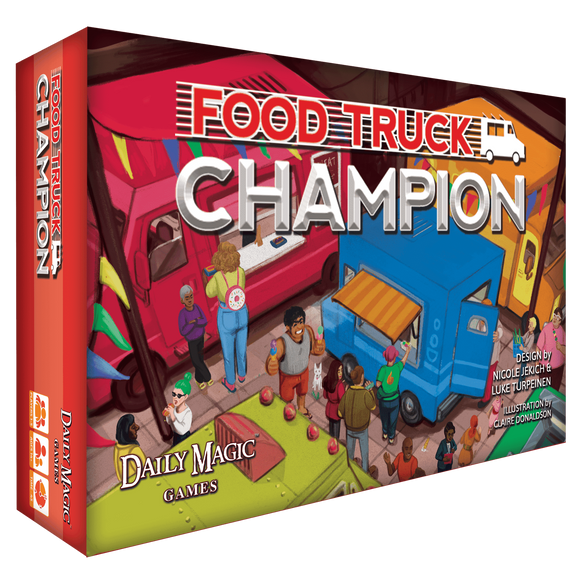 Food Truck Champion: Deluxe Edition (Kickstarter Special) Kickstarter Board Game Daily Magic Games 0602573043677 KS000652