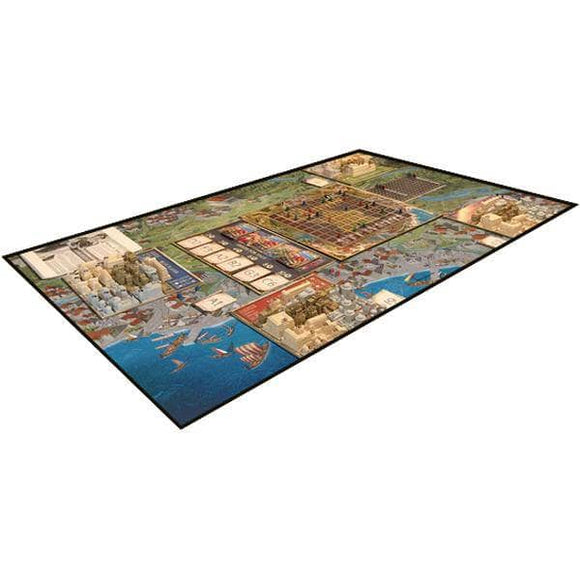 Foundations of Rome: Neoprene Play Mat Bundle (Kickstarter Pre-Order Special) Board Game Accessory Arcane Wonders KS001011D