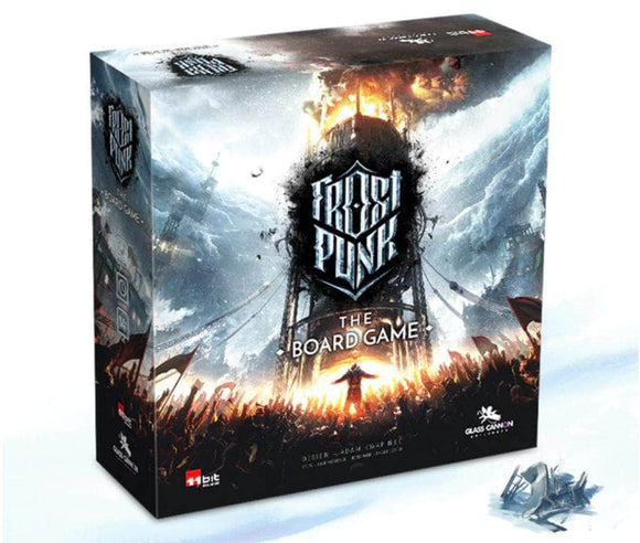 Frostpunk: Gamer's Edition All-In Pledge Bundle (Kickstarter Pre-Order Special) Kickstarter Board Game Glass Cannon Unplugged KS001057A
