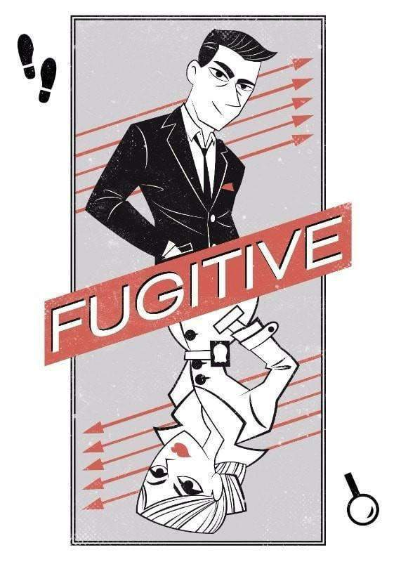 Fugitive (Kickstarter Special) Kickstarter Card Game Fowers Games 0088234837784 KS000057