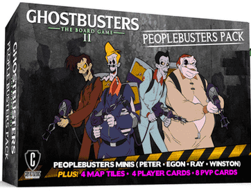 Ghostbusters II: Peoplebusters Pack (Kickstarter Special) Kickstarter Board Game Expansion Cryptozoic Entertainment