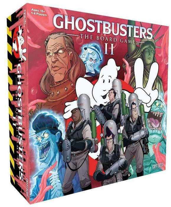 Ghostbusters: The Board Game II (Kickstarter Special) Kickstarter Board Game Cryptozoic Entertainment 0814552023901 KS000122