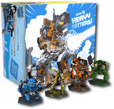 GKR: Heavy Hitters (Kickstarter Special) Kickstarter Board Game Cryptozoic Entertainment