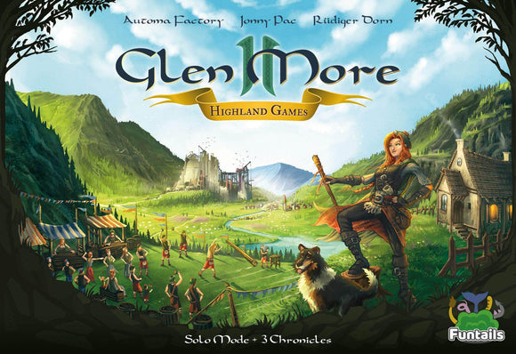 Glen More Ii Chronicles: Highland Games Expansion with Promos 4 and 5 Plus Metal Coin Set Bundle (Kickstarter Pre-Order Special) Kickstarter Board Game Expansion Funtails GmbH KS001044B
