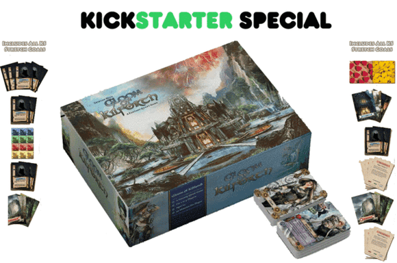 Gloom of Kilforth: A Fantasy Quest Game (Kickstarter Pre-Order Special) Kickstarter Card Game Hall or Nothing Productions 0602573197585 KS000220