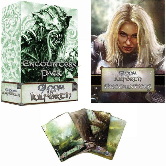 Gloom of Kilforth: Encounters Expansion Pack (Kickstarter Special) Kickstarter Board Game Expansion Hall or Nothing Productions