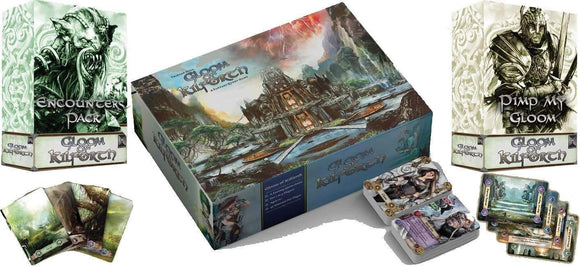 Gloom of Kilforth Plus Expansions (Kickstarter Pre-Order Special) Kickstarter Board Game Hall or Nothing Productions