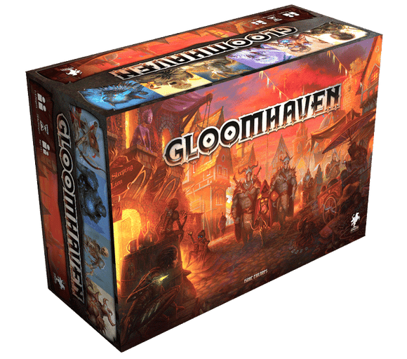 Gloomhaven With Standees (Kickstarter Special) Kickstarter Board Game Cephalofair Games 0019962194818 KS000217A