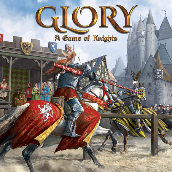 Glory: A Game of Knights Lord Pledge Bundle (Kickstarter Pre-Order Special) Kickstarter Board Game Strategos Games KS000995A
