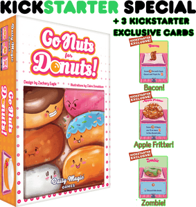 Go Nuts for Donuts! (Kickstarter Special) Kickstarter Card Game Daily Magic Games 0759751001117 KS000011
