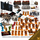 Great Wall Board Game: Dragon Collectors All-In Pledge plus Sundrop Pre-Shaded Miniatures (Kickstarter Pre-Order Special) Kickstarter Board Game Awaken Realms KS001007E