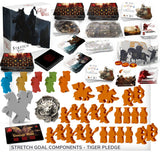 Great Wall Board Game: Tiger Gameplay All-In Pledge Plus Deluxe Meeples (Kickstarter Pre-Order Special) Kickstarter Board Game Awaken Realms KS001007B