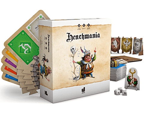 Henchmania: Sbires (Kickstarter Special) Kickstarter Board Game Gigamic 3760261220032 KS000035