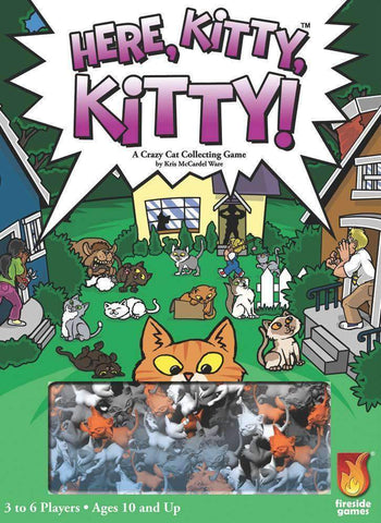Here, Kitty, Kitty! Retail Board Game Fireside Games 0850680002104 KS000695