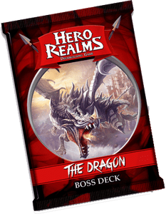 Hero Realms: Boss Deck - Dragon Retail Board Game Supplement White Wizard Games