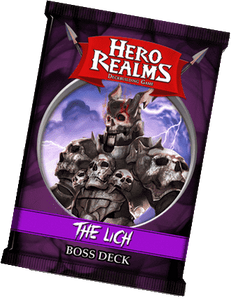 Hero Realms: Boss Deck - Lich Retail Board Game Supplement White Wizard Games 0852613005367 KS000066B