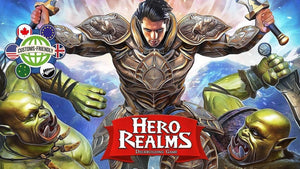 Hero Realms: Deckbuilding Card Game Gamer Tier Promo (Kickstarter Special) Kickstarter Card Game White Wizard Games 0852613005268 KS000066