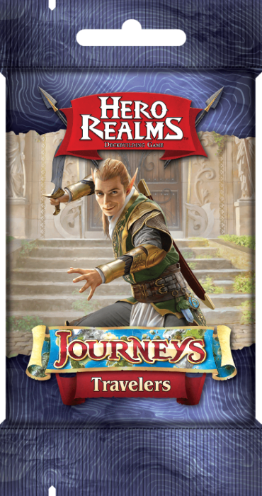 Hero Realms: Journeys Kickstarter Promo Pack Bundle (Kickstarter Pre-Order Special) Card Game Geek, Kickstarter Games, Games, Kickstarter Card Games Supplements, Card Games Supplements, White Wizard Games, Hero Realms Journeys – Travelers, The Games Steward Kickstarter Edition Shop, Card Drafting, Deck White Wizard Games