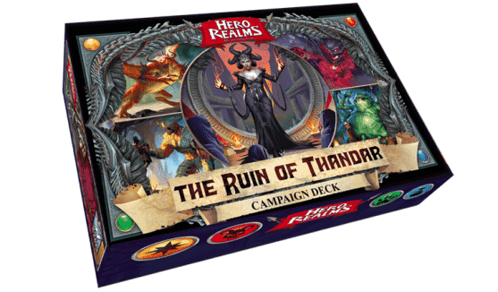 Hero Realms: The Ruin of Thandar Campaign Deck Retail Board Game Expansion White Wizard Games