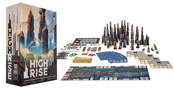 High Rise: The Ultraplastic Edition Works Pledge Bundle (Kickstarter Pre-Order Special) Kickstarter Board Game Formal Ferret Games KS001058A
