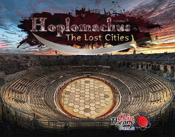 Hoplomachus: The Lost Cities Pre-Order Chip Theory Games KS001034A