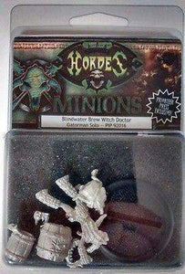 Hordes: Minions Blindwater Brew Witch Doctor - Privateer Press Exclusive Retail Miniatures game accessory Edge Entertainment