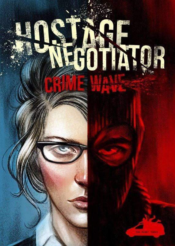 Hostage Negotiator with Crime Wave Bundle (Kickstarter Special) Kickstarter Board Game Van Ryder Games