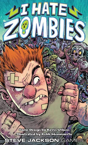 I Hate Zombies (Kickstarter Special) Kickstarter Card Game BoardGameGeek KS000351