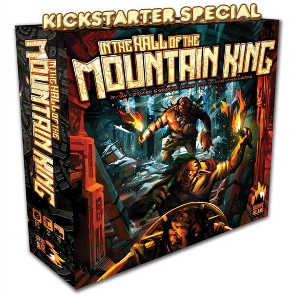 In The Hall of the Mountain King: Deluxe Edition (Kickstarter Pre-Order Special) Kickstarter Board Game Burnt Island Games