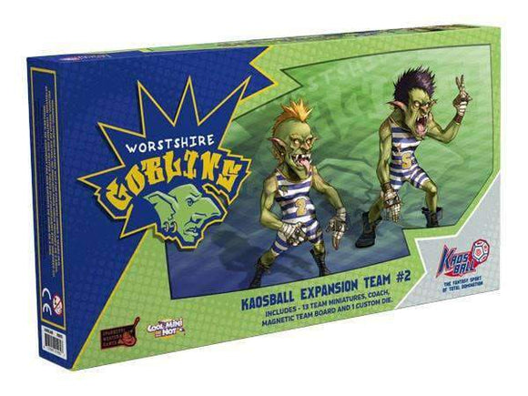 Kaosball: Worstshire Goblins Retail Board Game Expansion CMON Limited 0817009016808 KS000642