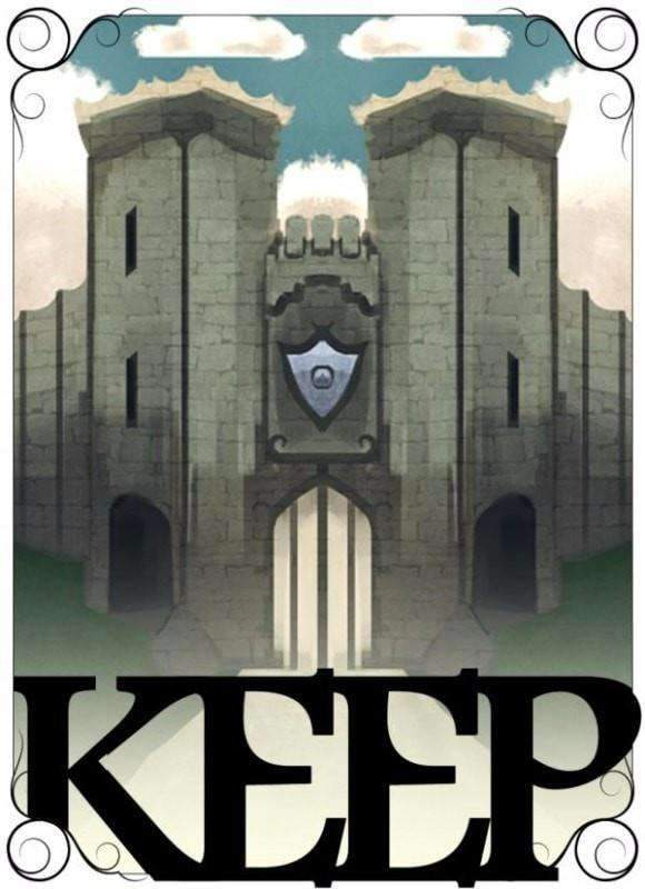 KEEP (Kickstarter Special) Kickstarter Board Game Small Box Games 31119624 KS000204