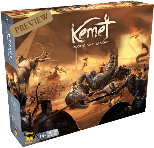 Kemet: Blood and Sand All-In God Pledge Combo Bundle (Kickstarter előrendelés speciális) Matagot KS001040A