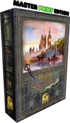 Key to the City: London (Master Print Edition #18) Retail Board Game R&D Games 5060156400234 KS000668