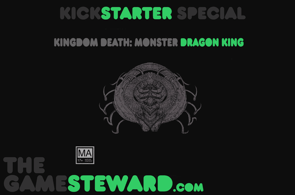 Kingdom Death Monster: Dragon King Expansion Retail Board Game Expansion Kingdom Death